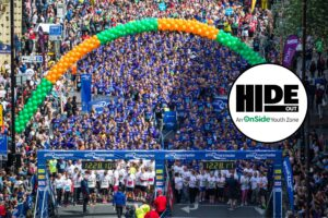 Run For HideOut Youth Zone In The Great Manchester 10K