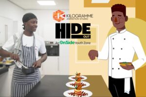 HideOut Collaborate With Animation Studio Kilogramme