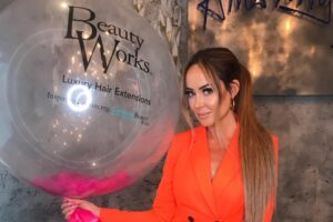 Beauty Works' Penelope Cheshire signs up to support HideOut Youth Zone