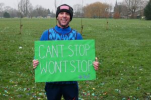 HideOut Youth Worker Completes Mammoth Challenge With 50km Fundraiser