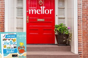 HideOut Takes Part In Edward Mellor Door Step Doodle Competition