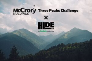 McCrory Supports Hideout In 3 Peaks Challenge
