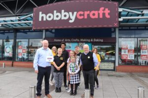 Hobbycraft Becomes Latest HideOut Youth Zone Supporter