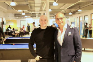 Theo Paphitis HideOut Youth Zone Gorton Manchester
